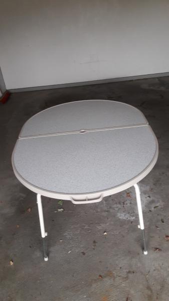 crespo campingbord - Skive - Crespo campingbord 120 x 90 cm – som nyt - Skive